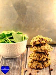 Healthy Chocolate Chip Cookies #healthy cookies #healthy dessert | foodmeanderings.com