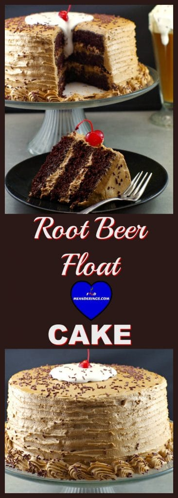 root beer float, root beer, happy birthday cake, chocolate cake, root beer float cake