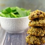 Award Winning Healthy Tropical Green Chocolate Chip Cookies #chocolate chip cookies #healthy | foodmeanderings.com