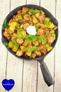 Ukrainian Breakfast hash #brunch ideas   foodmeanderings.com