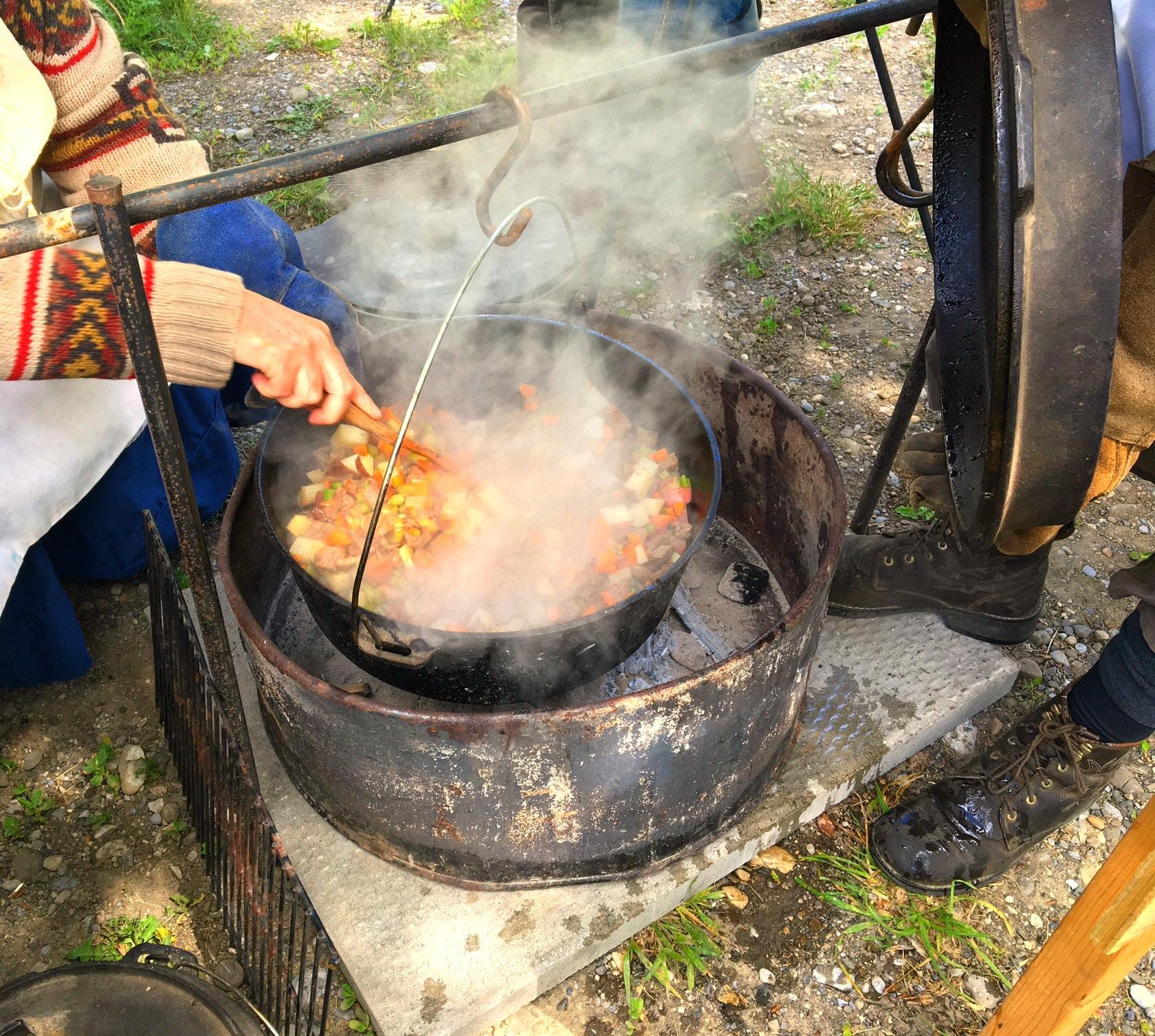 Beef Stew cook-off | Bar U Ranch Albert - Foodmeanderings.com