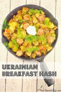 Ukrainian Hash | breakfast potluck idea - foodmeanderings.com