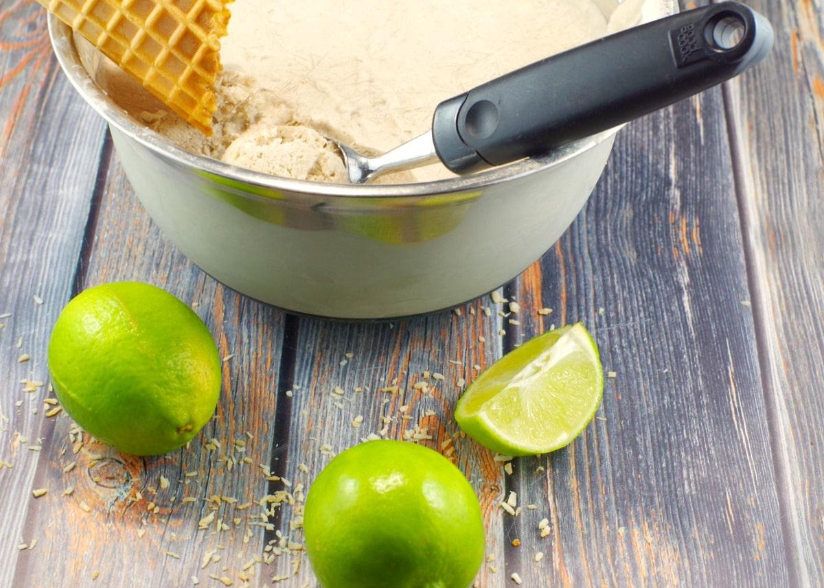 Vegan Nice Cream   #healthydessert, #nicecream - Foodmeanderings.com
