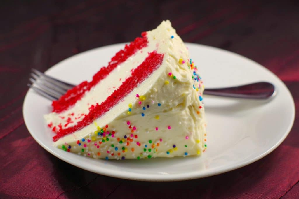 Red Velvet Ice Cream Cake Food Meanderings