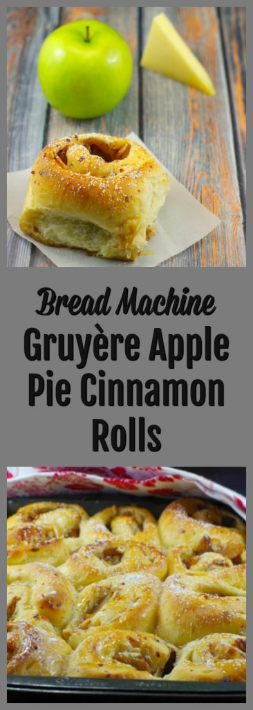 Apple Pie Cinnamon Rolls Breadmaker Brunch Potluck Food