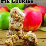 Toffee Apple Pie Cookies } Award-winning -foodmeanderings.com