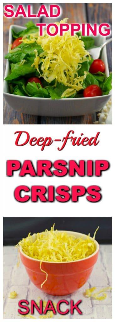 Parsnip Crisps | #parsniprecipes #parsnip - Foodmeanderings.com - Foodmeanderings.com