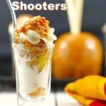 Caramel Apple Betty Dessert Shots | Easy - foodmeanderings.com