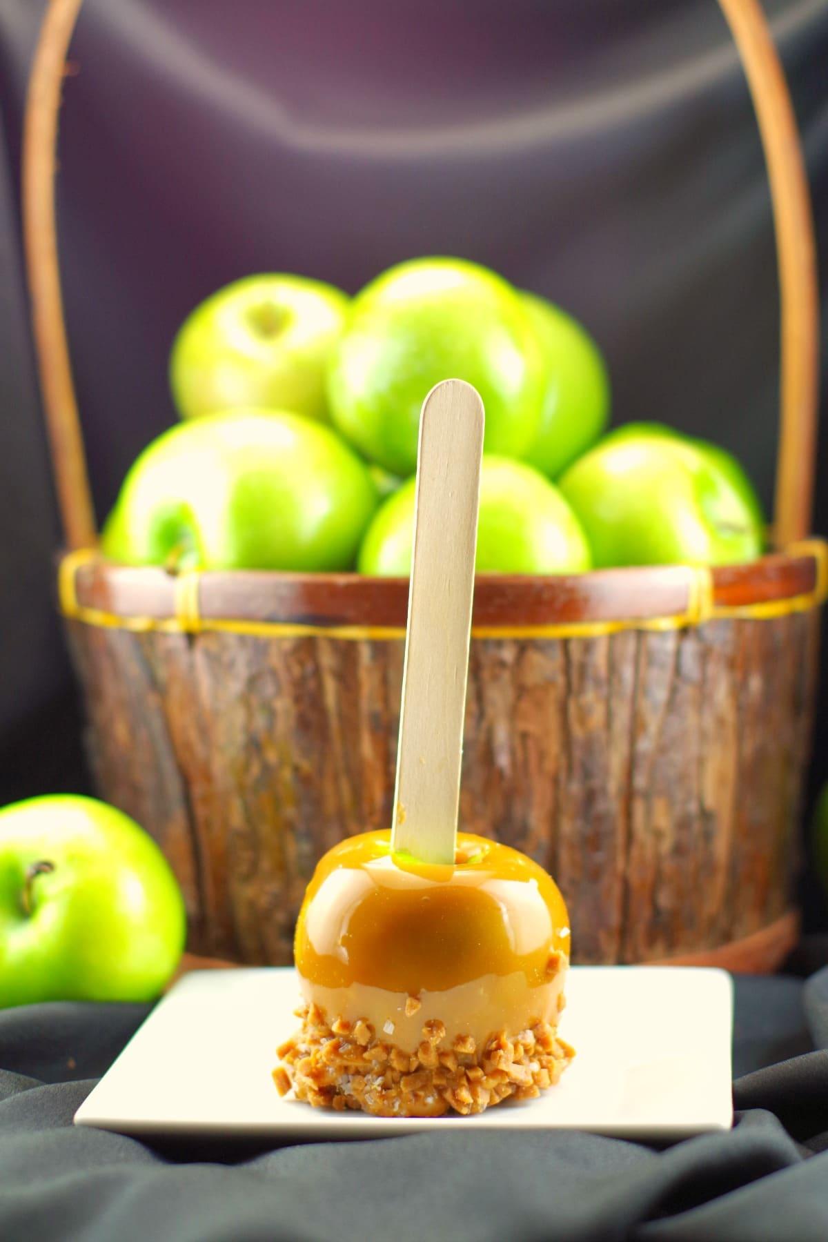 Halloween Apples History | #halloweenapples - Foodmeanderings.com