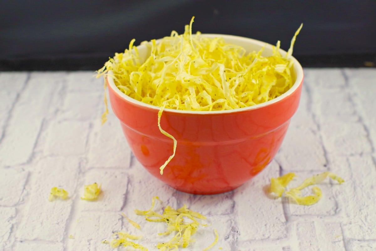 Deep-fried Parsnip Crisps | #parsniprecipes #parsnips - Foodmeanderings.com