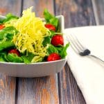 Parsnip Chips Salad Topper   #parsniprecipes #parsnips - Foodmeanederings.com