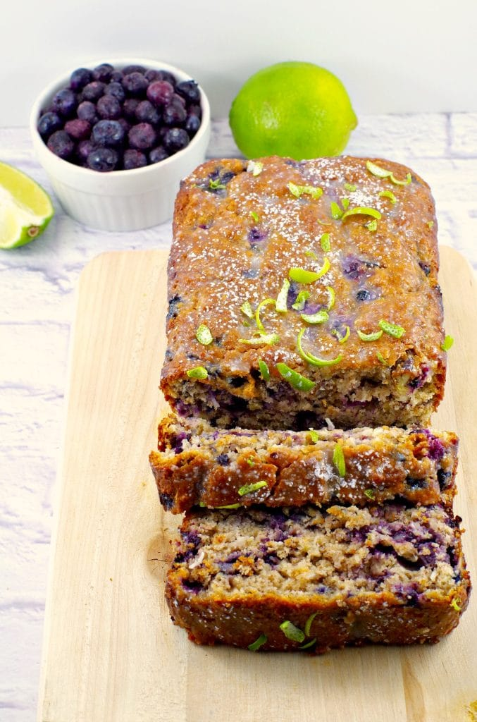 Blueberry Gingerbread Loaf |Foodmeanderings.com