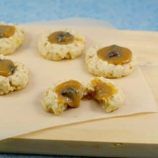 Butter Tart Cookies recipe |easy butter tart filling - Foodmeanderings.com