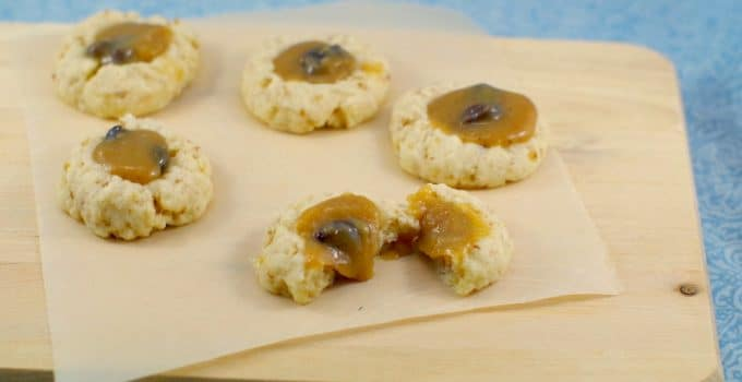 Butter Tart Thumbprint Cookies: Love & Obsession