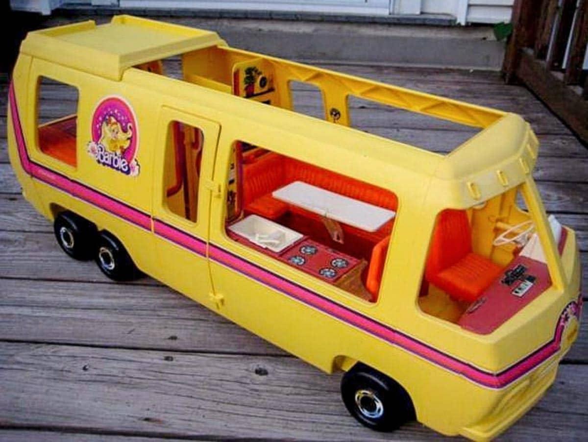 barbie dream camper from the 1970's