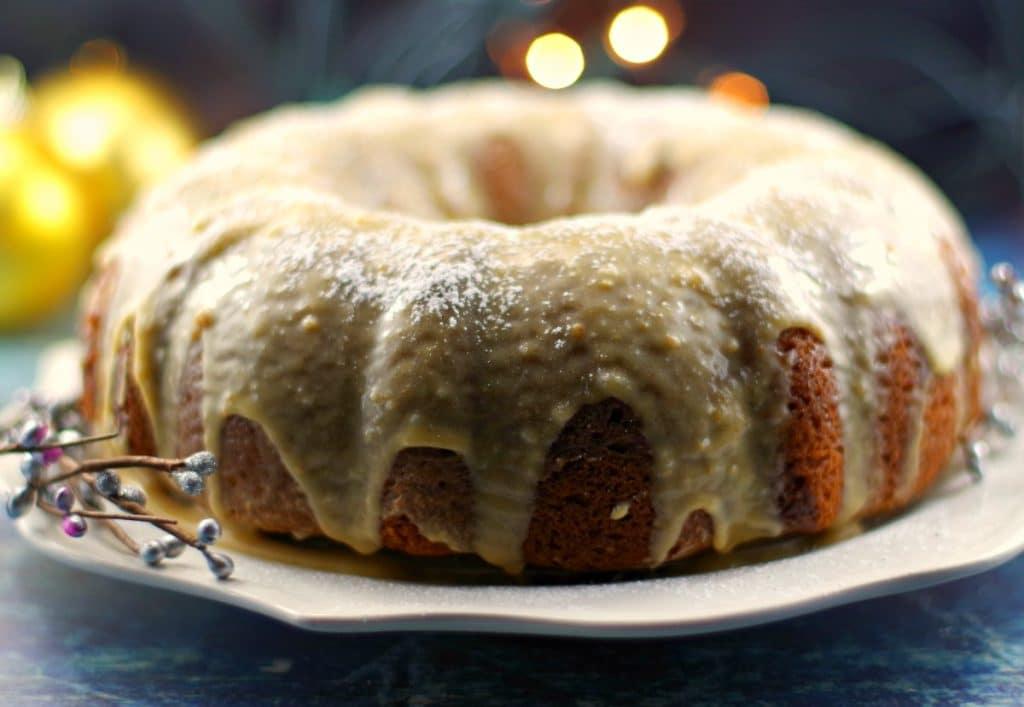 Butter Tart Bundt Cake | butter tart - Foodmeanderings.com