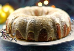 Butter Tart Bundt Cake   butter tart - Foodmeanderings.com