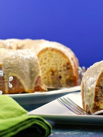 Butter Tart Cake | butter tart - Foodmeanderings.com
