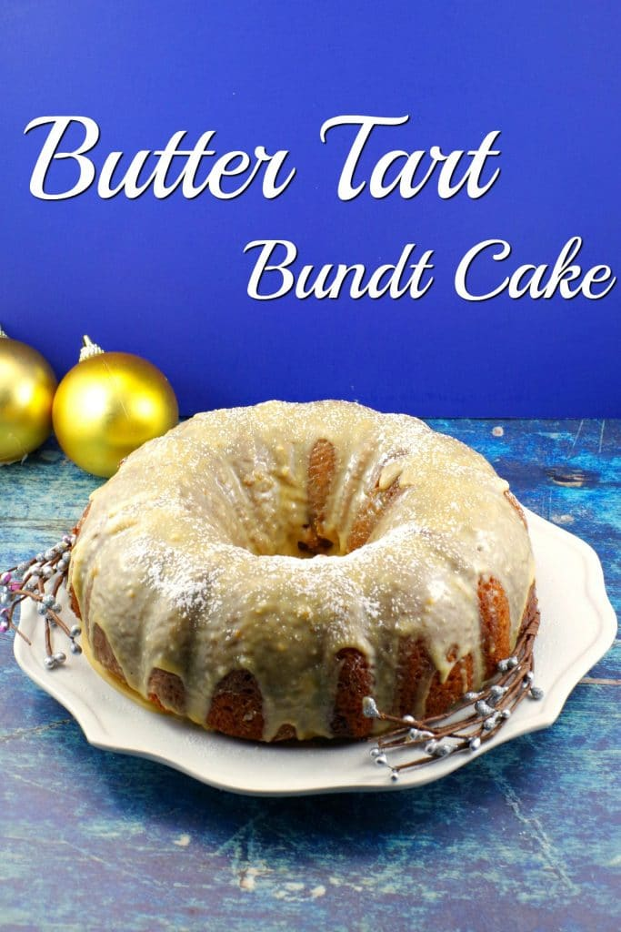 Butter Tart Bundt Cake | #buttertart - Foodmeanderings.com