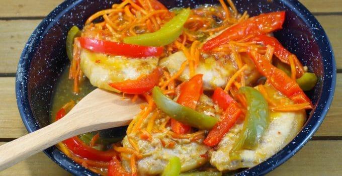 One Pan Plum Glazed Pork Chops: Company Worthy Food