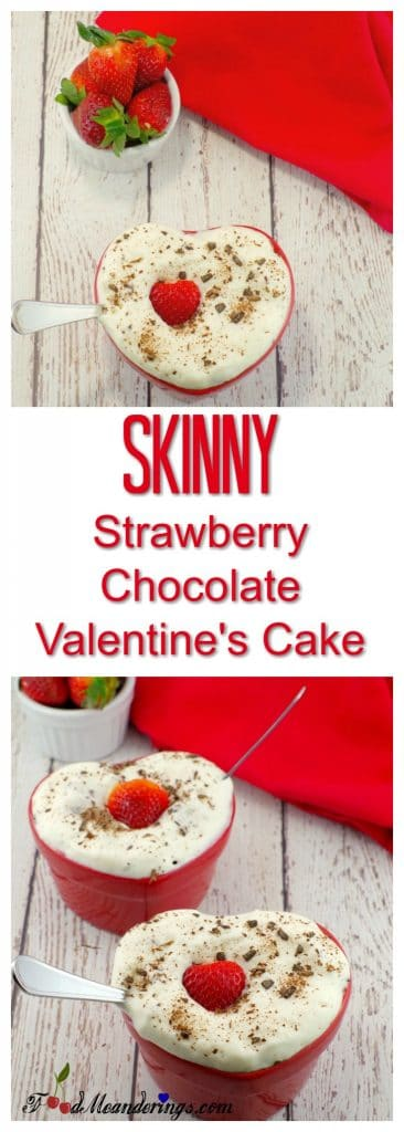 Healthy Strawberrychocolate Valentine S Day Cake Food Meanderings