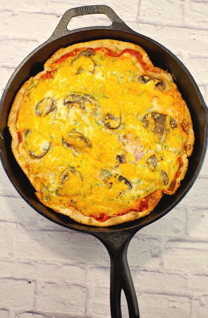 Better For You Breakfast Pizza Egg White Breakfast Pizza