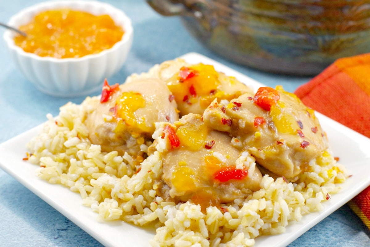 cbcd23f3bc69 5 Ingredient Easy Apricot Chicken