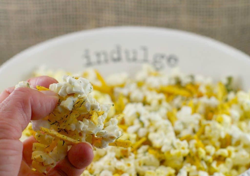 Harvest Popcorn | savory popcorn seasoning - Foodmeanderings.com