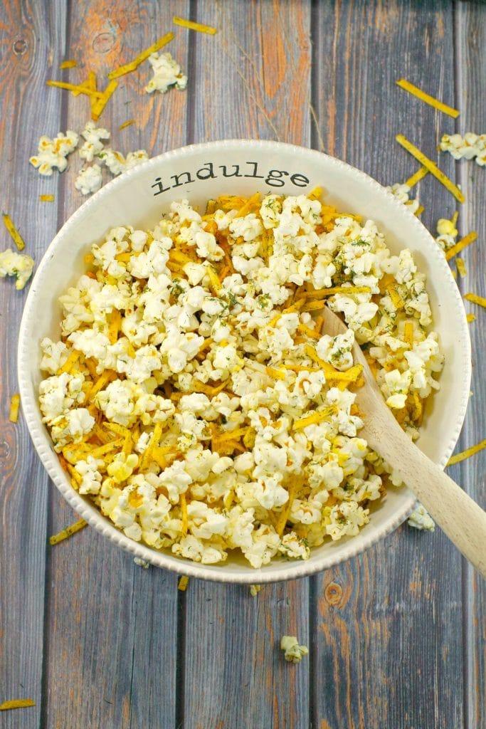 Savory Popcorn Seasoning | Harvest Popcorn - Foodmeanderings.com