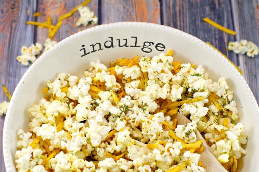 Savory Popcorn Flavouring | Harvest Popcorn - Foodmeanderings.com