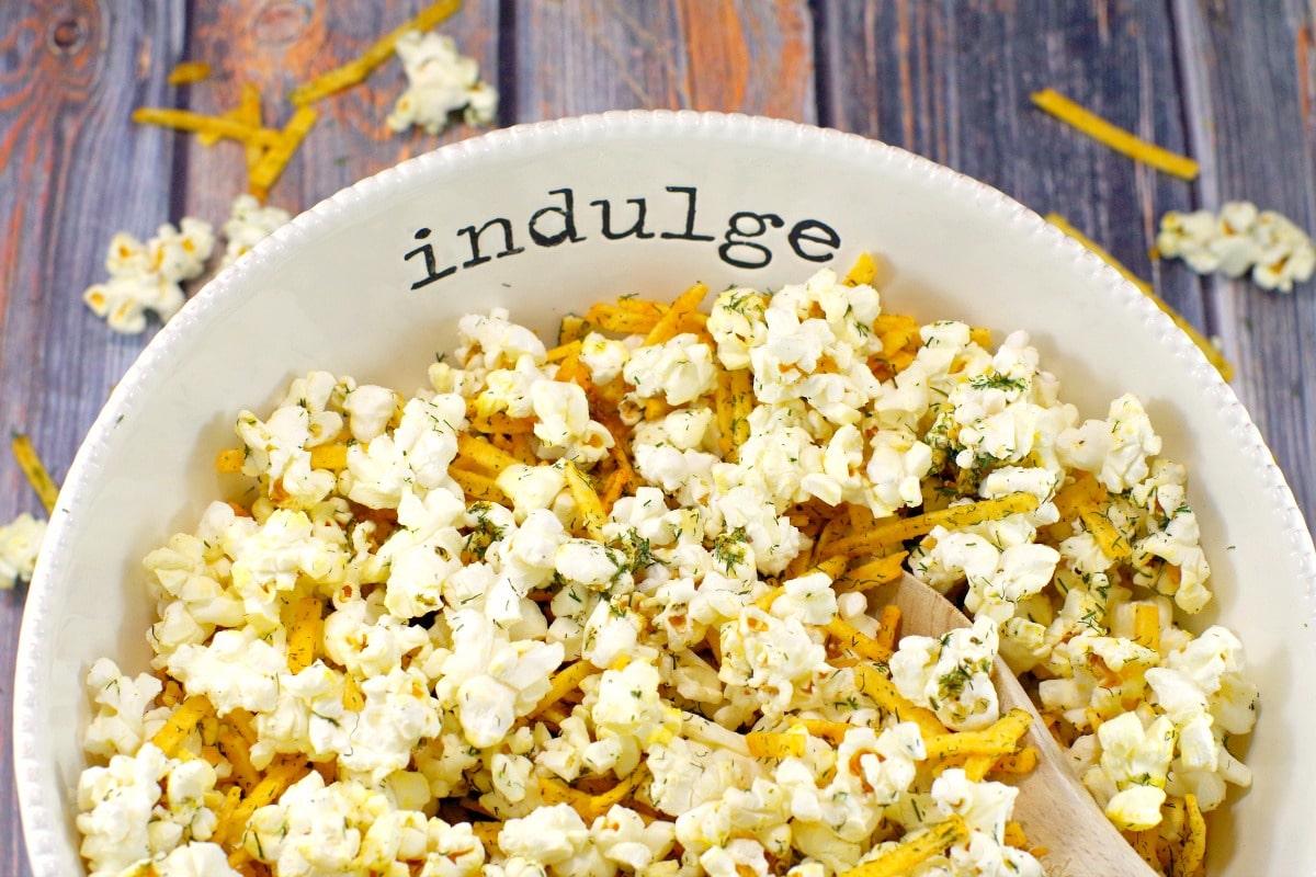 Savory Popcorn Flavouring   Harvest Popcorn - Foodmeanderings.com