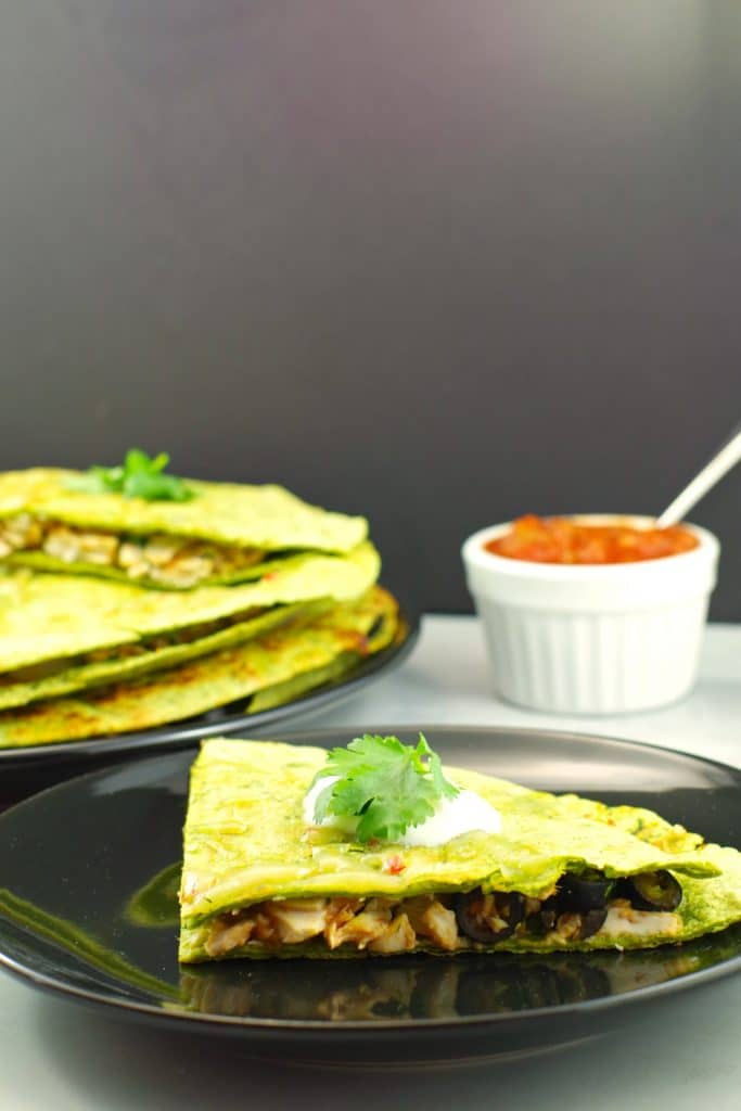Chicken Quesadillas - Foodmeanderings.com