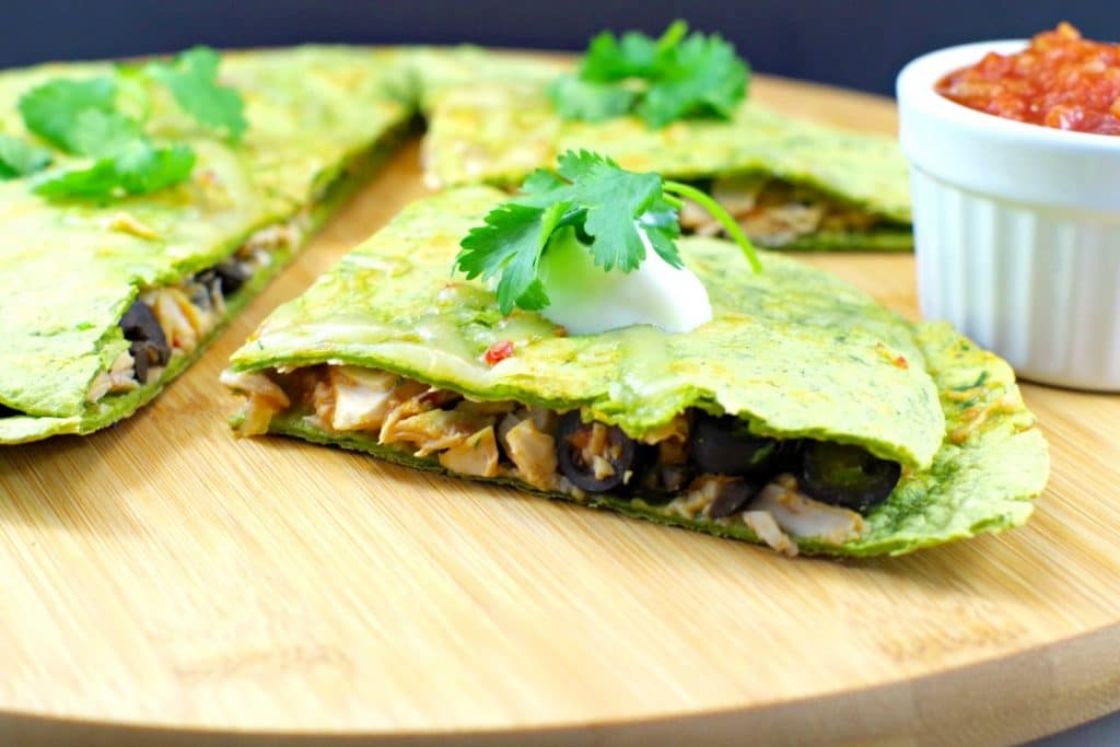 Easy Mexican Chicken Quesadillas - Foodmeanderings.com