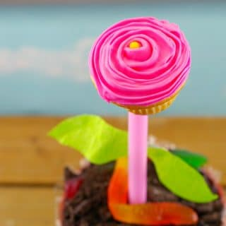 Cupcake Flower Pots: An Edible DIY Mother's Day Gift/Spring Craft Tutorial