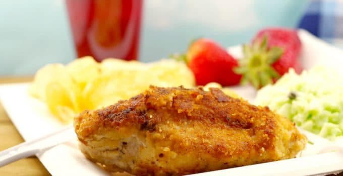 Fried Caesar Chicken: The Ultimate Picnic Chicken!