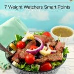Grilled Steak Salad with Feta & Clamato Dressing