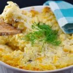 Potatoes Romanoff | with hash browns - foodmeanderings.com