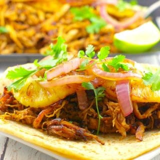 Slow Cooker Healthy Pork Carnitas (Gluten-free) & The Wild Mountain Music Festival giveaway!