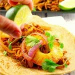 Slow Cooker Gluten-free Pork Carnitas - foodmeanderings.com