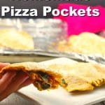 Homemade Pizza Pocket |healthy - foodmeanderings.com