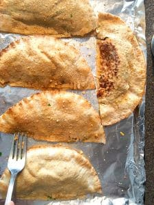 How to make healthy Homemade pizza pockets | baked - foodmeanderings.com