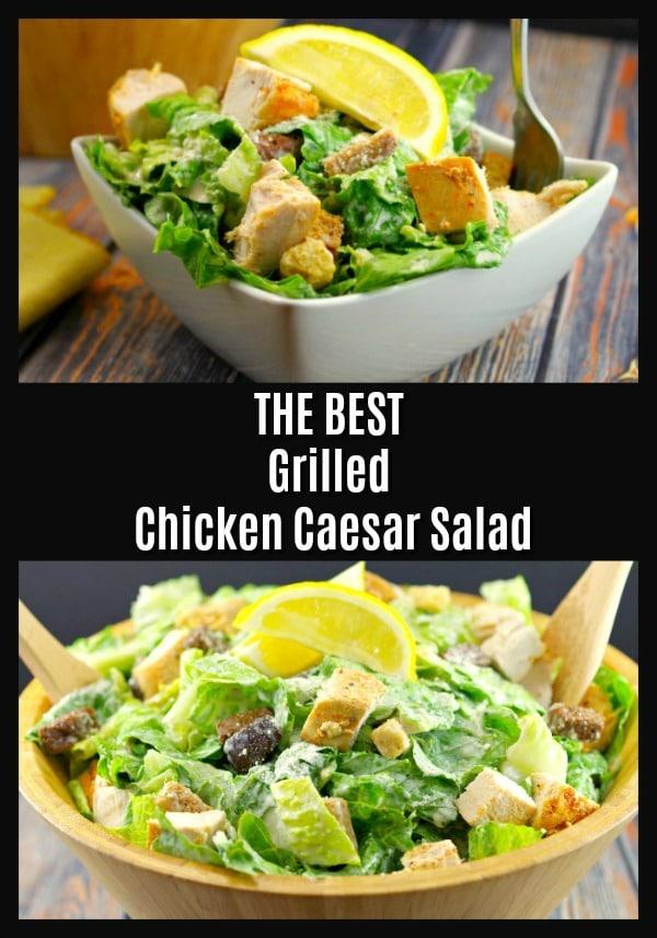 The best Grilled Chicken Caesar salad