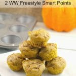 2 Light Bite Pumpkin Pie Blondies | Weight Watchers - #pumpkin #blondies - foodmeanderings.com