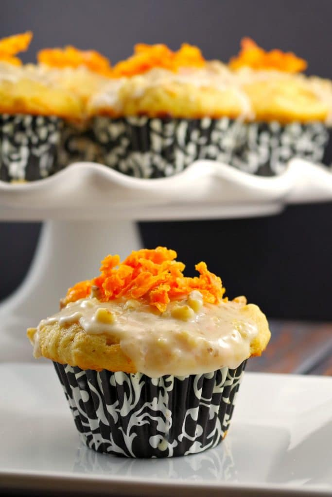 Carrot Cake Donut Muffin recipe - foodmeanderings.com