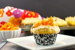 Carrot Cake Doughnut Muffins | gourmet muffins - foodmeanderings.com