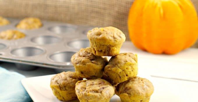 2 Light Bite Pumpkin Pie Blondies: Weight Watchers friendly
