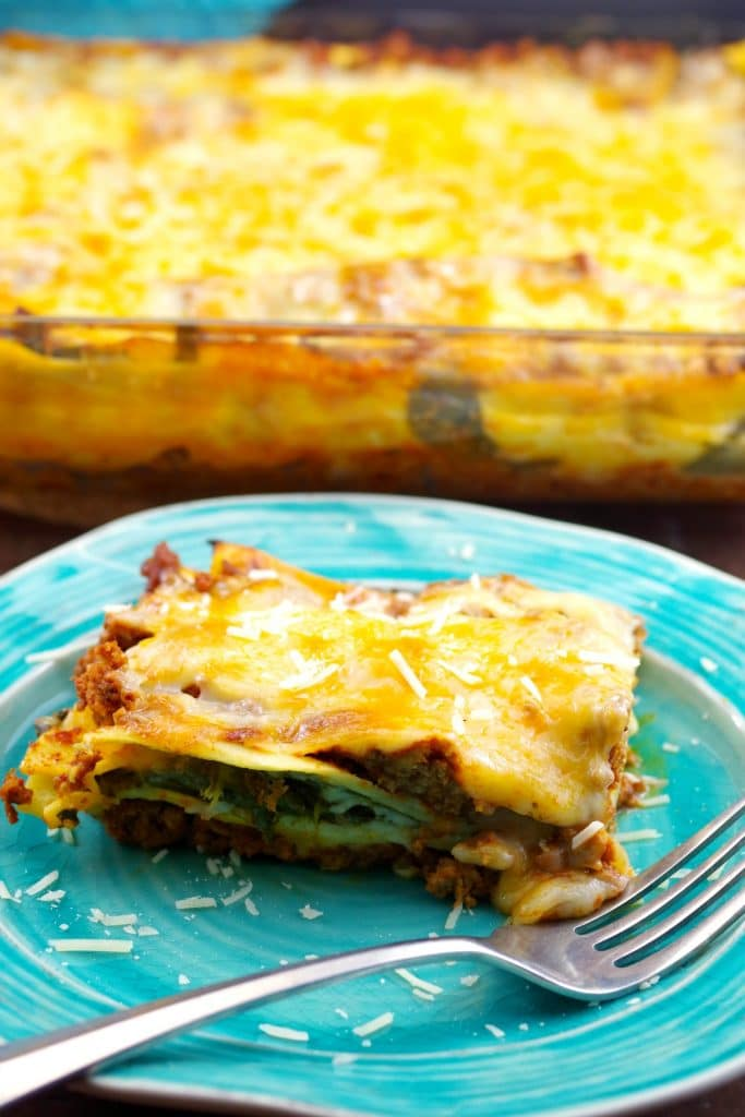 Easy Homemade Meat Lasagna | no boil noodles - foodmeanderings.com