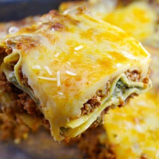 Easy Meat Lasagna Recipe | no boil lasagna noodles - foodmeanderings.com