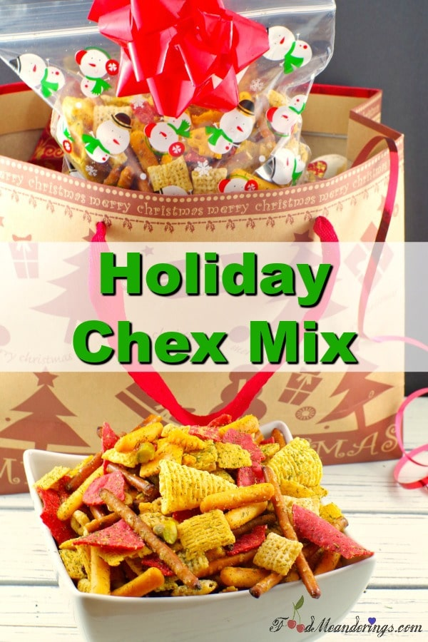 Chex Mix Christmas.Holiday Chex Mix