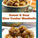 Slow cooker meatballs | Sweet and Sour - foodmeanderings.com #meatballs #sweetandsour #slowcooker